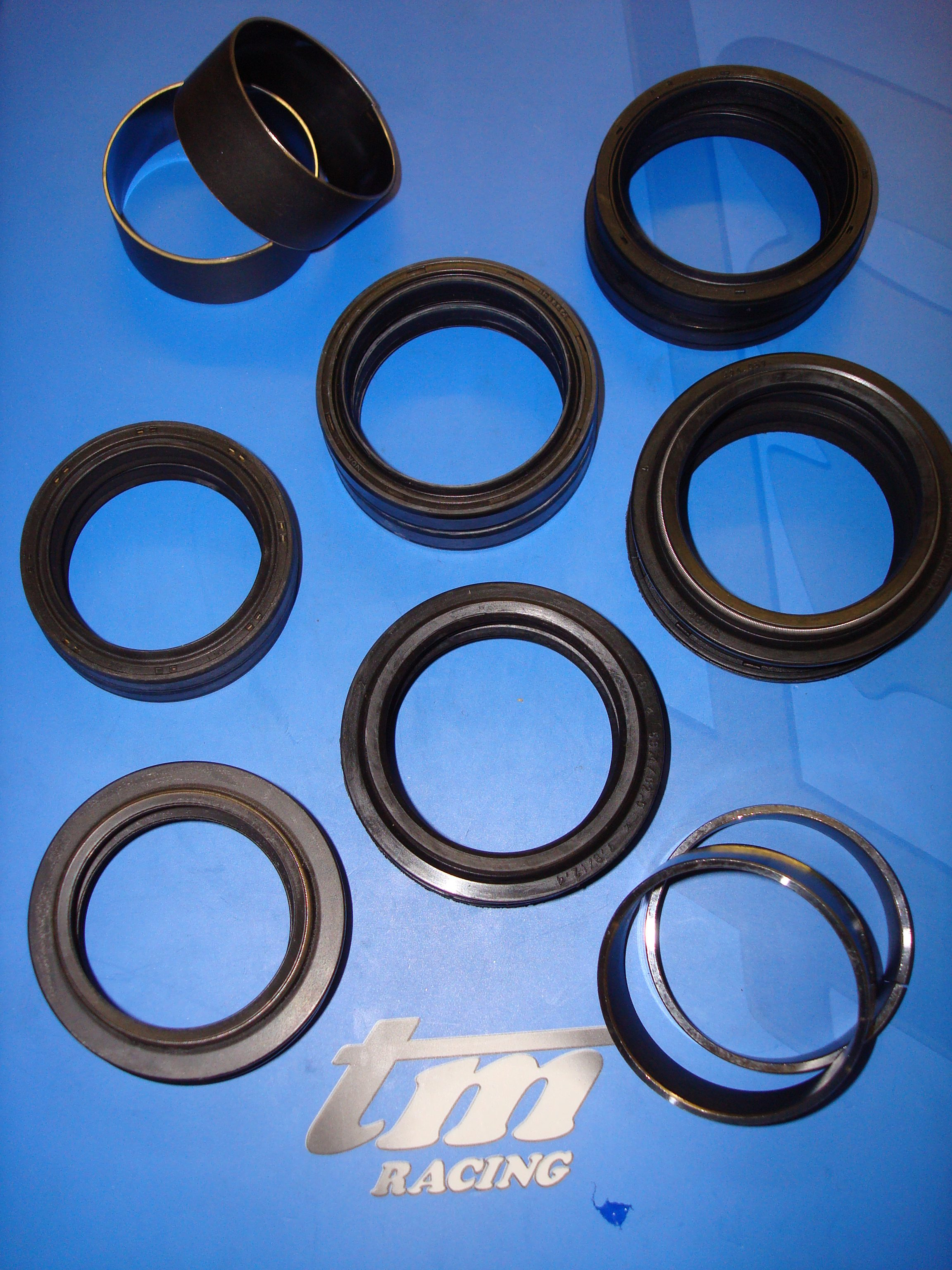 TM Racing Fork Seals and Bushes - info@tmukonline com