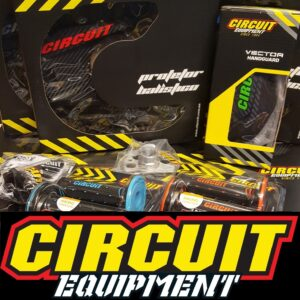 CIRCUIT EQUIPMENT: Handguards : Race Kit : Apparel : Disc-Covers : Grips & Grip Accessories : Light Units : Bike Stands : Exhaust Bungs & More : All Brands & Colours
